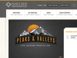 Lovers Lane Website