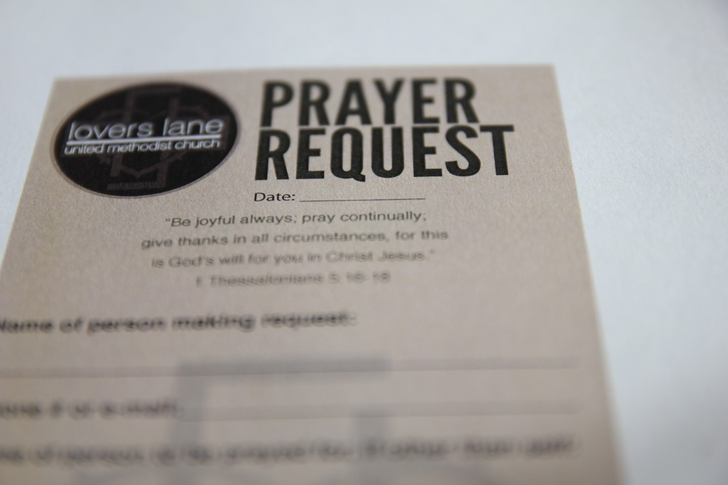 Andrew K Tran 187 Prayer Request Cards