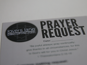 Prayer Request Cards
